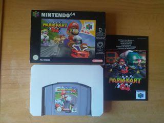 Vendo Mario Kart 64 para Nintendo 64.