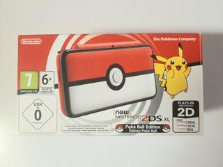*NUEVO* New Nintendo 2DS XL Ed. Especial Poké Ball