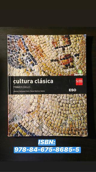 Libro de texto Cultura Clásica 2 ESO