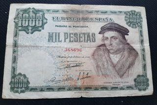 1000 pesetas 1946, vives