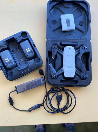 Dj Spark Drone + cargador baterías + 3 baterias