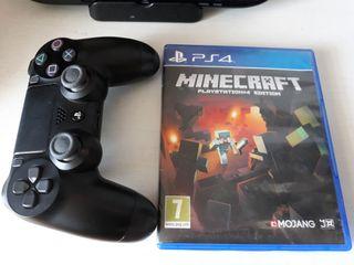 Minecraft + dualshock 4