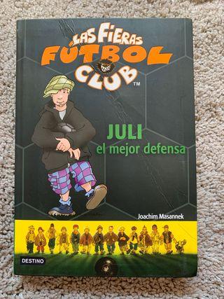 Las fieras fútbol club 4 - Juli el mejor defensa