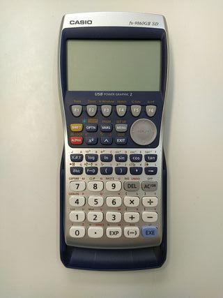 Calculadora Casio fx-9860GII SD
