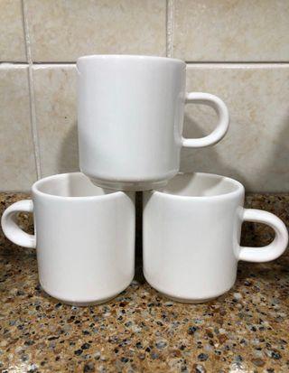 Lote 3 tazas de café