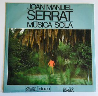 Joan Manuel Serrat Disco Vinilo Lp