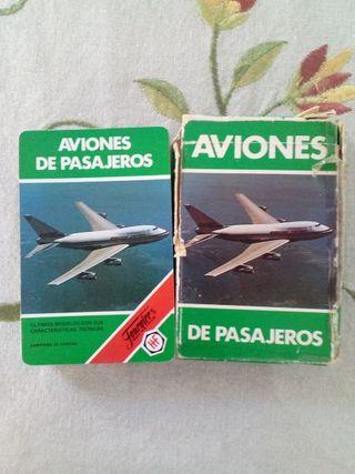 Barajas de cartas de Aviones de Pasajeros