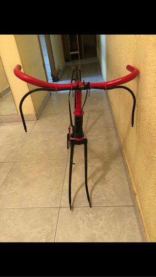Bicicleta de varilla
