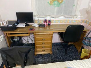Vendo escritorio doble grande