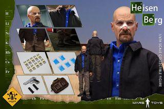 Mars Toys 1/6 Heisenberg Breaking Bad