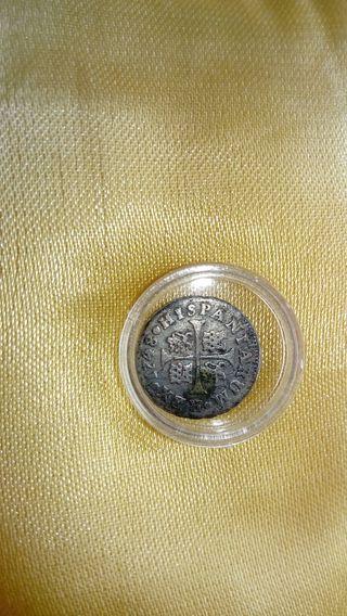 moneda de plata , Fernando VI 1748 . j.b