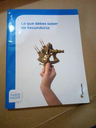 Libros Matemáticas 1° Bachillerato