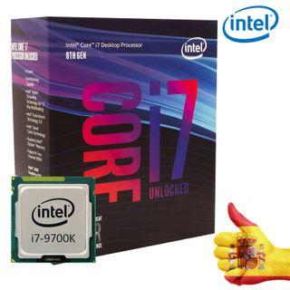 Intel Core i7-9700k CPU box procesador 8x3,6 GHz z