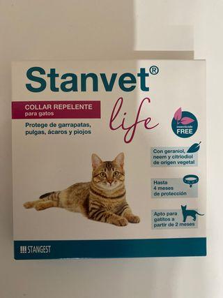 Collar repelente para gatos ( sin abrir )