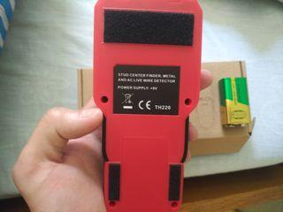 Detector metal electricidad