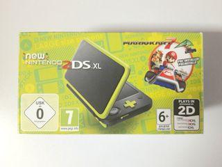 *NUEVO* New Nintendo 2DS XL Negro-Lima Mario Kart