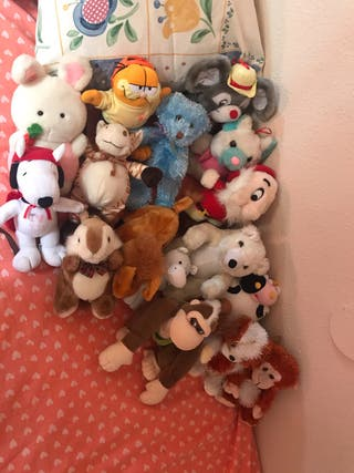 Lote 16 peluches