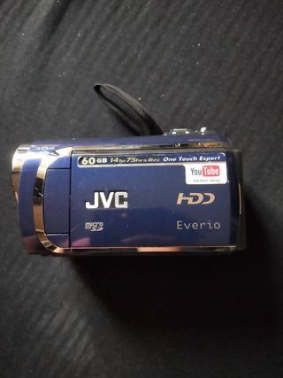 Cámara de vídeo HD marca JVC 60GB