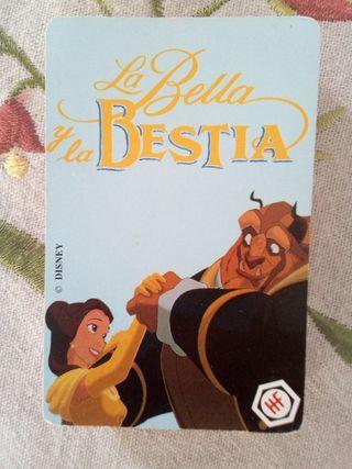 Baraja La Bella y la Bestia 1992