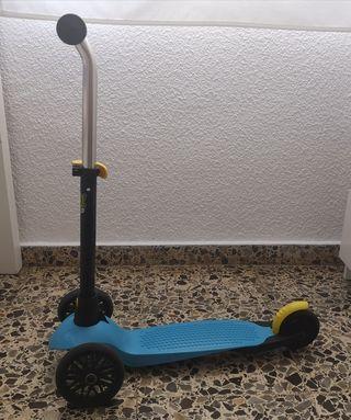 Patinete Scooter Oxelo B1 Niño 3 ruedas