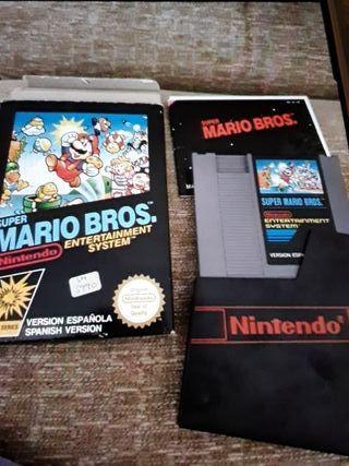 Juego Súper Mario bros original