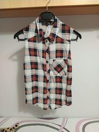 camisa de cuadros