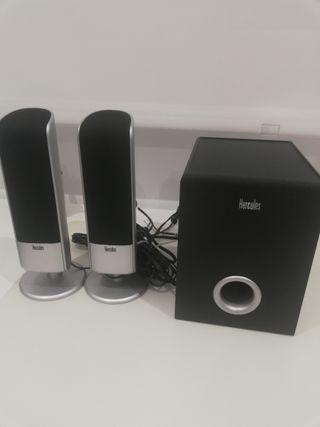 Sistema de sonido 2.1