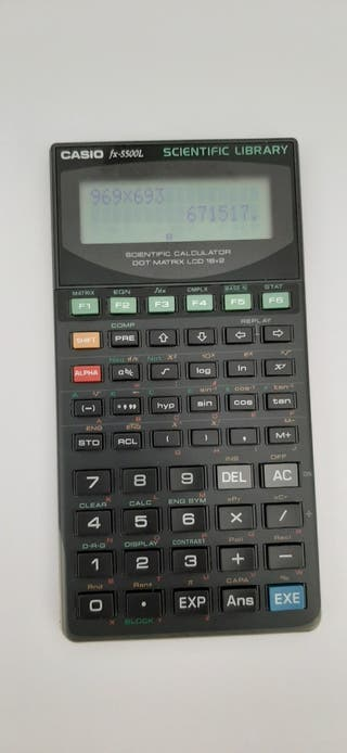 Calculadora Casio fx-5500l