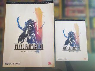 Guía oficial de Final Fantasy XII (+ miniguía)