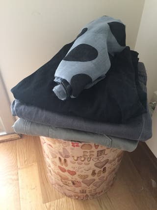 Lote 3 pantalones Premamá