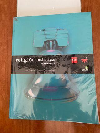 Libro Sm religión bachillerato