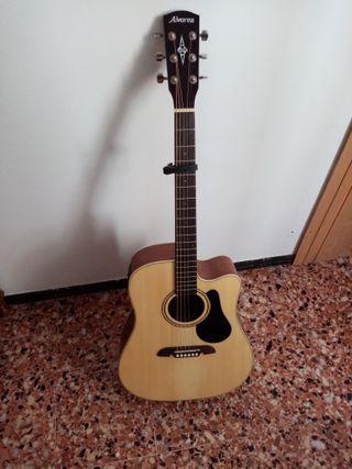 Guitarra acústica + cejilla