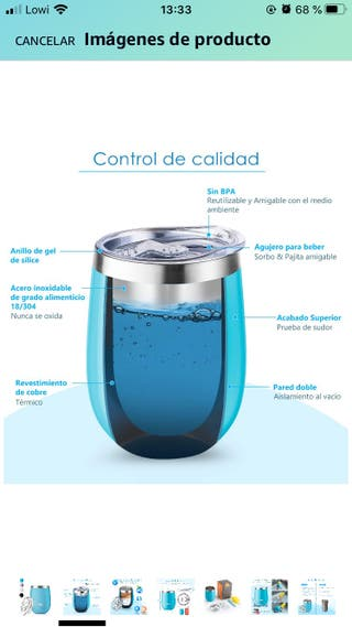 Termo para líquidos portátil