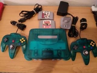 Nintendo 64 Ice Blue