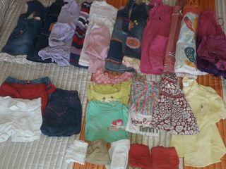 Lote ropa verano/invierno 12/18 meses