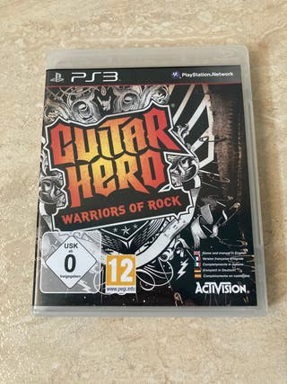 Guitar Hero 5 PS3 + Guitarra