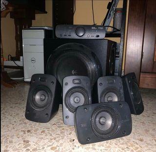 Equipo de sonido Logitech