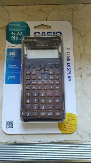 Calculadora Casio Fx-82MS nueva TIENDA