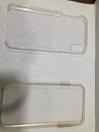 Iphone XS max Double protection case
