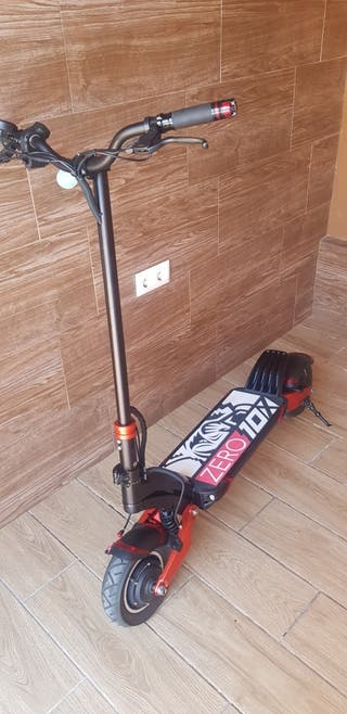 patinete eléctrico zero 10x