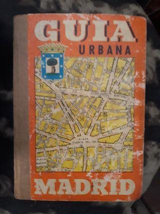 antigua guía de Madrid 1968