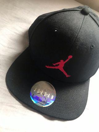Gorra negra Air jordan