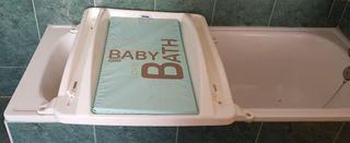 Cambiador bebé bañera