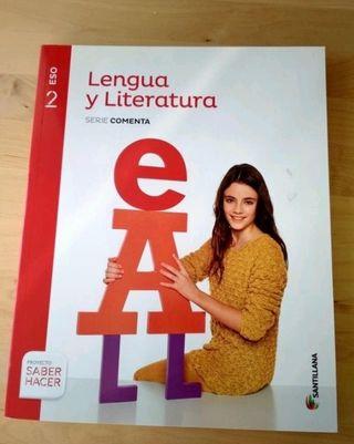 Libro texto lengua 2ESO editorial Santillana