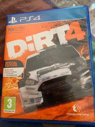 Dirt4 ps4 Especial Edition
