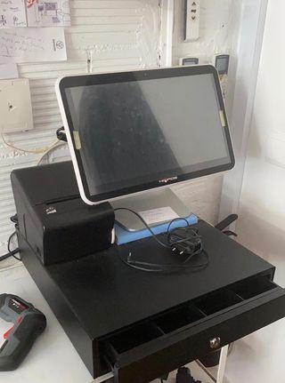 CAJA REGISTRADORA TPV con 2 impresoras termicas