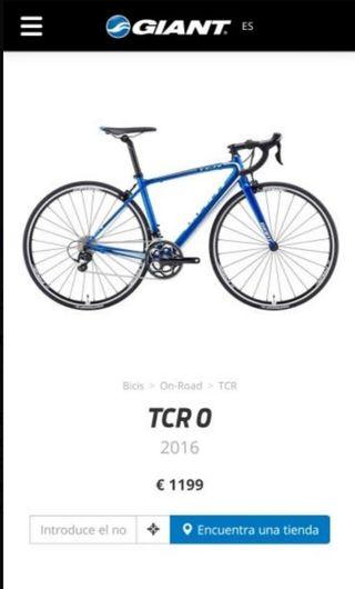 Bici carretera Giant TCR