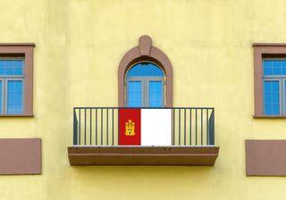 Bandera Balcon/Terraza Castilla La Mancha