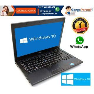 Portátil Dell E4310, i5/Cam/Win10 Gratis