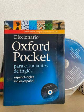 Diccionario Oxford inglés